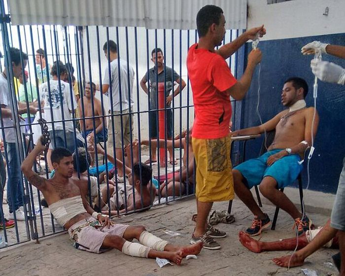 See The Inside Of Brazil's Toughest Jails (13 pics)