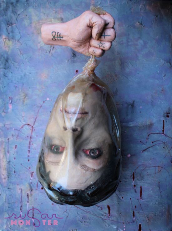 This Severed Head Chocolate Sculpture Is Perfect For Halloween (3 pics)