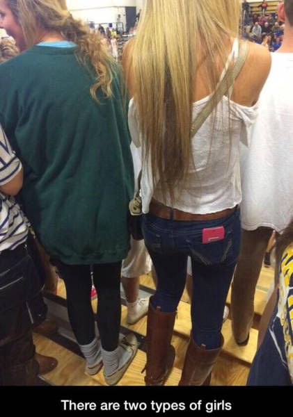 In This World There Are Two Types Of Girls (20 pics)