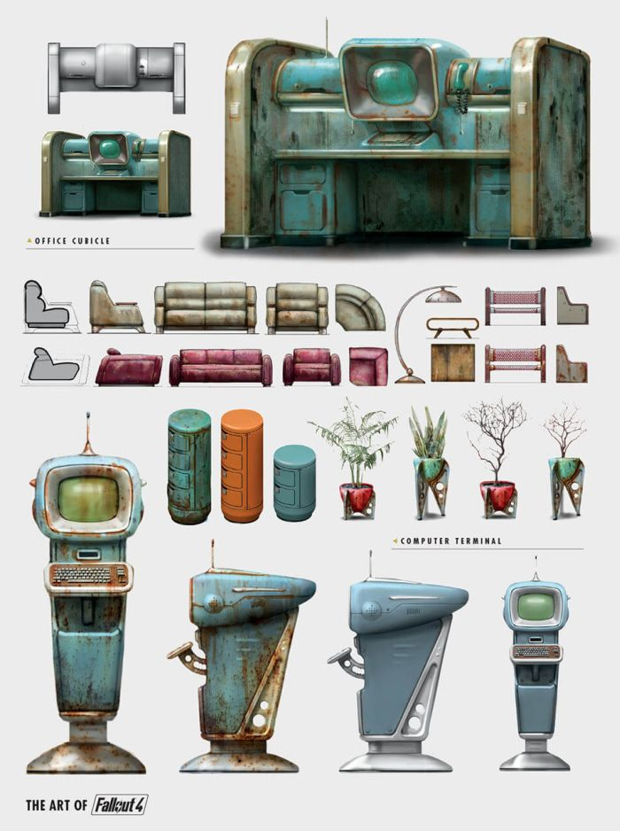 The Amazing Artwork Of Fallout 4 (30 pics)