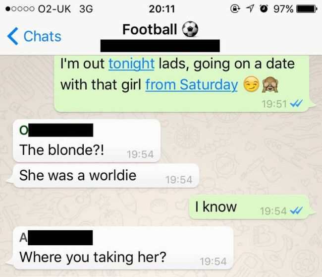 Dude Makes First Date As Awkward As Possible (16 pics)