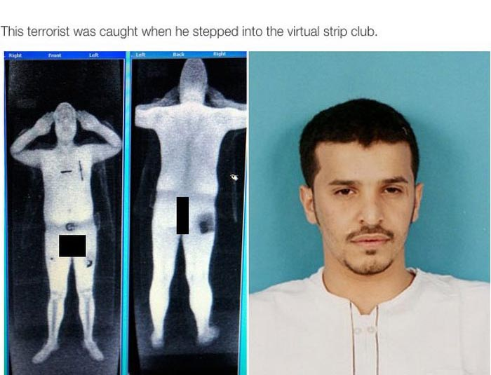It Turns Out Nothing's Really Private About Full Body Scan Images At The Airport (7 pics)