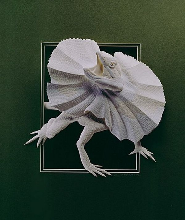 You Won't Believe That These Incredible Sculptures Are Made Out Of Paper (34 pics)