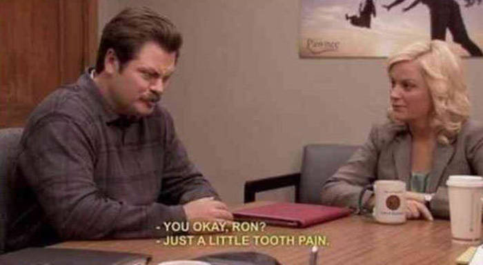 There's Nothing Quite Like The Ridiculousness Of Ron Swanson (16 pics)