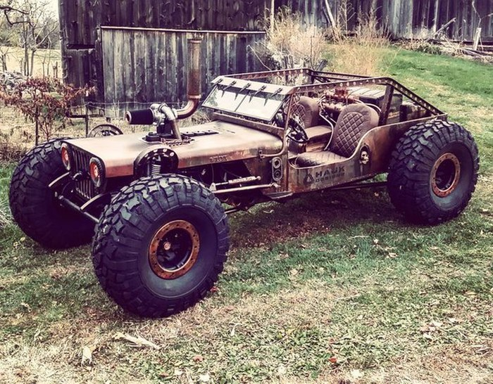 The Rock Rat River Raider Is A Vehicle Built For The Apocalypse (10 pics)