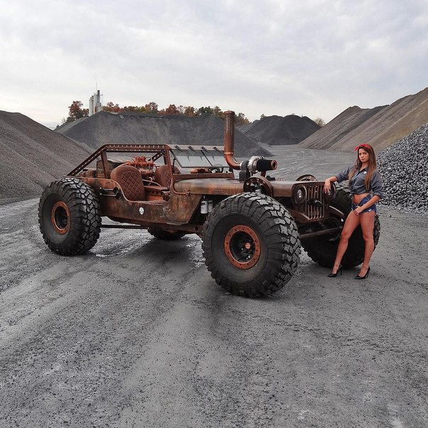 The Rock Rat River Raider Is A Vehicle Built For