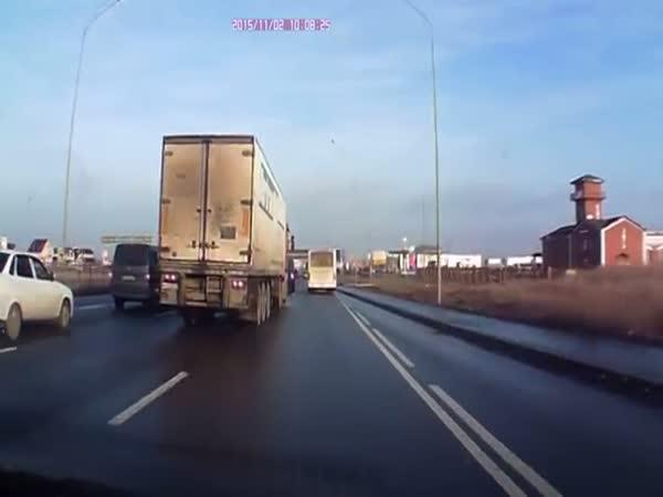Truck Close Call
