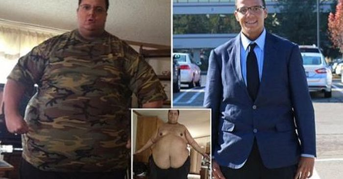 Obese Troll Gets Tips From Bodybuilders And Sheds His Extra Weight (7 pics)