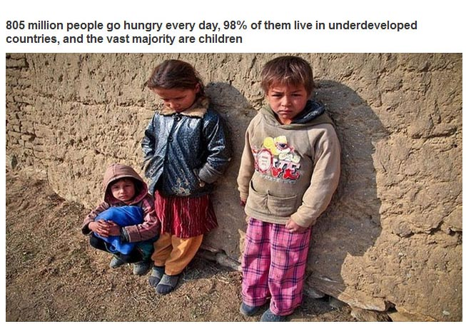 25 Statistics About The World We Live In That Are Just Plain Sad (25 pics)