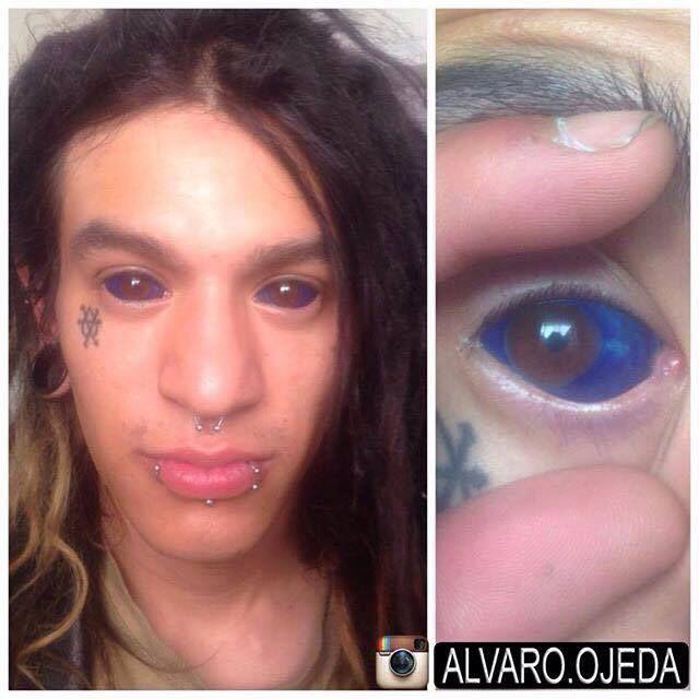 Eyeball Tattoos Are The Creepiest Trend Ever (20 pics)