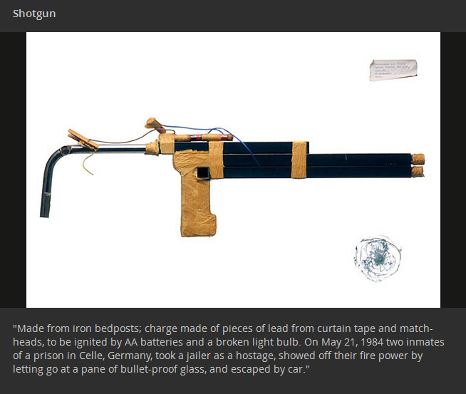 Weird Inventions You Will Only See In Prison (20 pics)