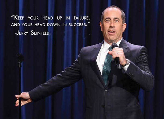 Jerry Seinfeld Is Full Of Great Life Advice (10 pics)
