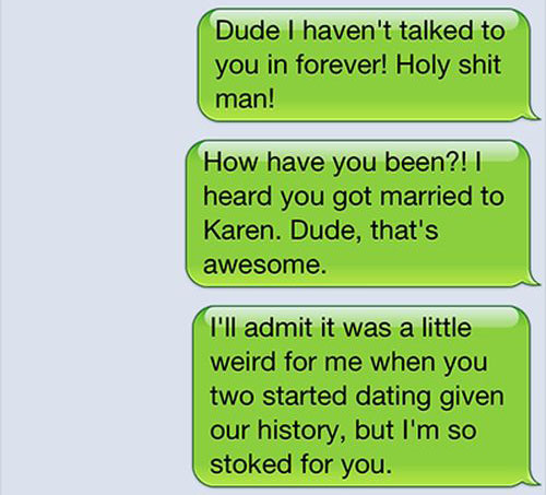 This Dude Had The Perfect Response When He Got Spam Texted (6 pics)