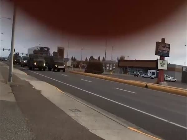 Nuclear Weapon Truck Mini Crash