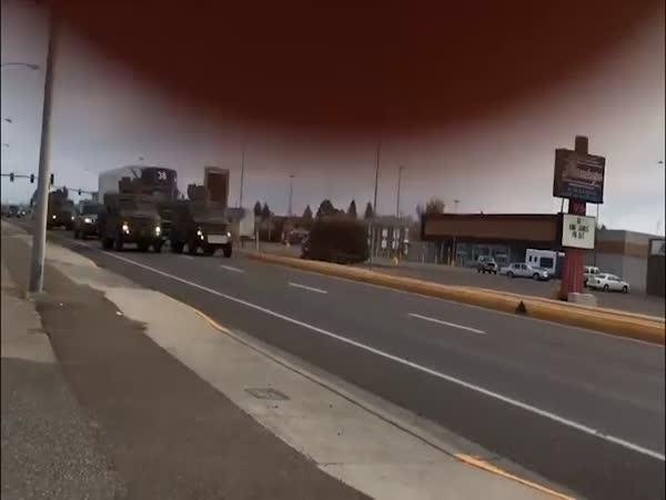 Nuclear Weapon Truck Mini Crash