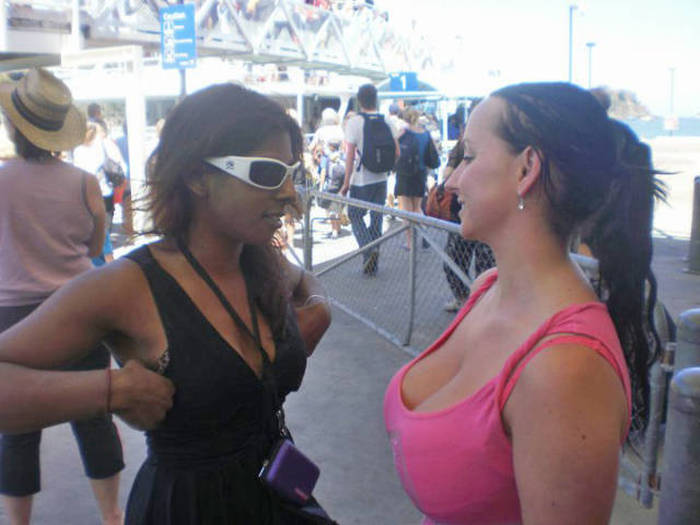 Girls Always Get Jealous Of Their Big Breasted Friends (42 pics)