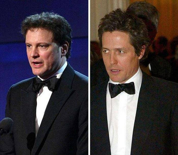 Hugh Grant And Colin Firth Were Born One Day Apart, See Who's Aged Better (20 pics)
