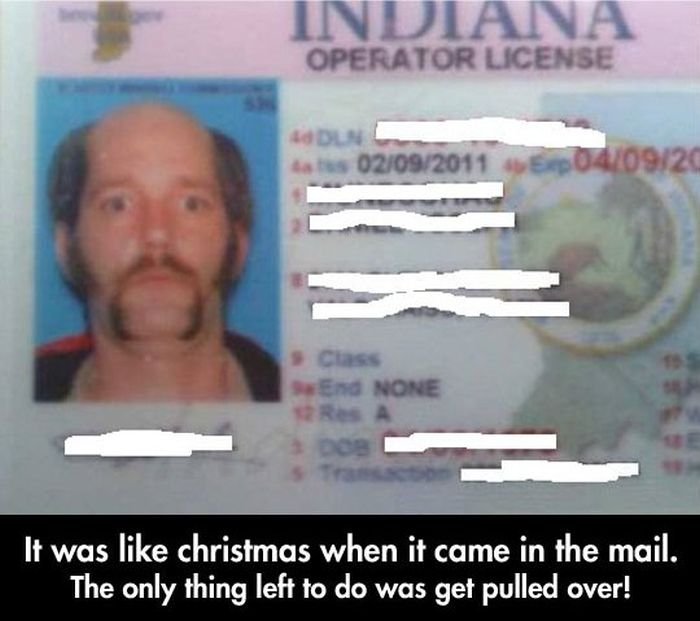 Man Totally Trolls The DMV With An Epic License Photo (6 pics)