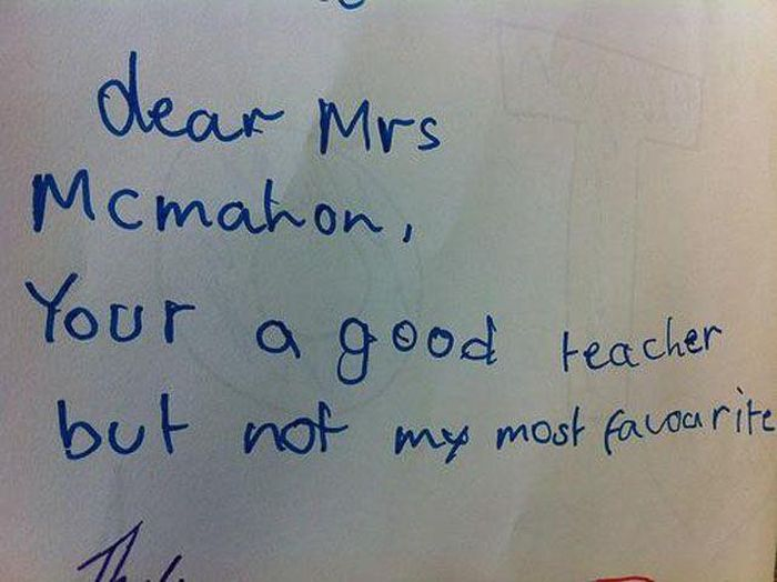 Funny Notes That Could Only Be Written By Kids (24 pics)