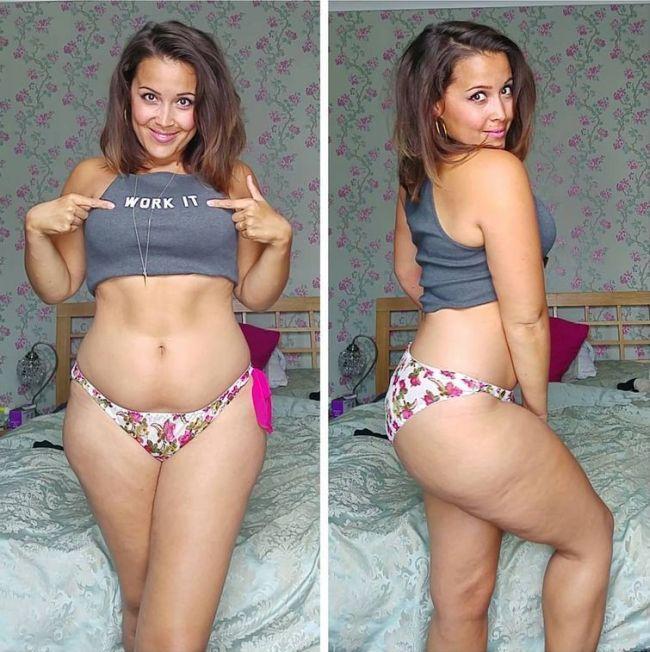 Babe Beats An Eating Disorder To Become A Full Figured Beauty (11 pics)