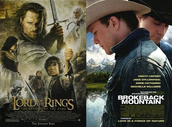 When Two Totally Different Films Can Be Summed Up Using The Same Sentence (10 pics)