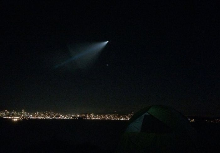 The Navy Has Revealed The Truth About The Blue UFO Everyone Saw In California (7 pics + video)