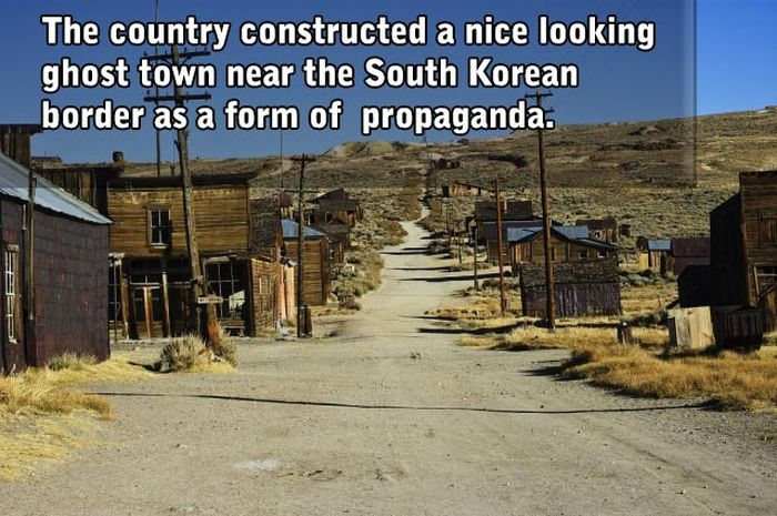 Facts About North Korea That Will Blow Your Mind (10 pics)