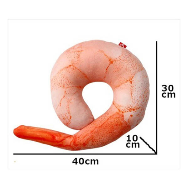 You Can Thank Japan For This Inflatable Shrimp Shaped Pillow (5 pics)