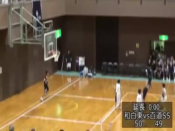 Great Basketball Shot