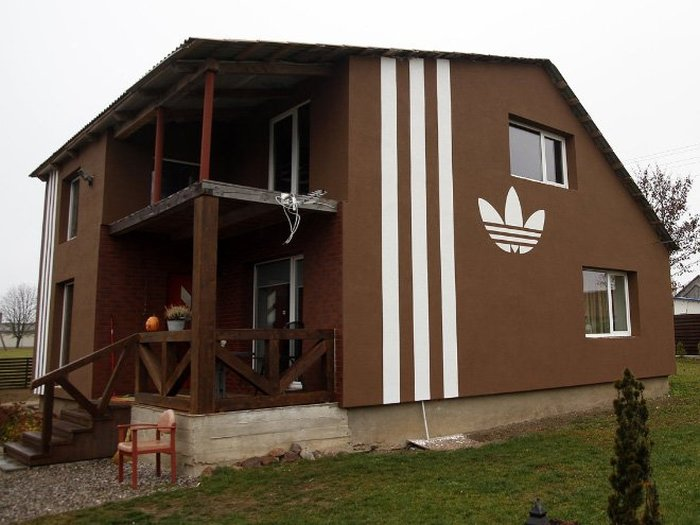 This Guy Took His Love Of Adidas Home With Him (10 pics)