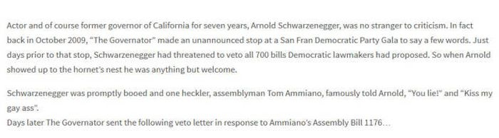 Arnold Schwarzenegger Hid A Clever Message In One Of His Letters (3 pics)
