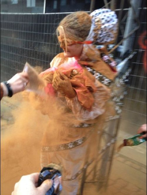 It's A Tradition In Denmark For 25 Year Olds To Get Covered In Cinnamon (6 pics)
