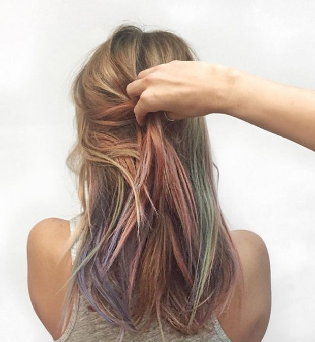 Mermaid Hair Is The Latest Fashion Trend For Women (12 pics)