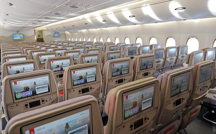 The New Emirates Airbus A380 Will Allow You To Fly In Style (7 pics)