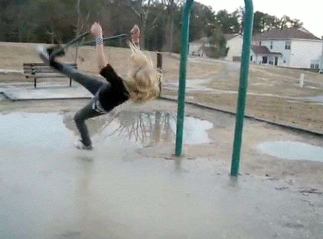 You Will Feel The Pain When You See These Hilarious Fail GIFs (18 gifs + video)