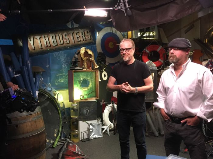 Adam Savage Shares Photos From The Last Day Of Filming For MythBusters (13 pics)