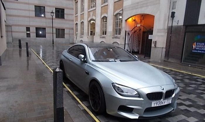 Russian Registered BMW Racks Up Thousands In Fines (3 pics + video)