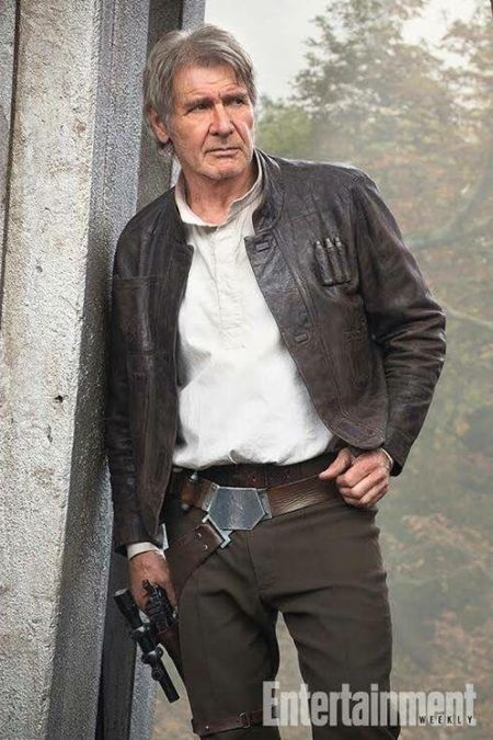 Han Solo Back In The Day And Today (2 pics)