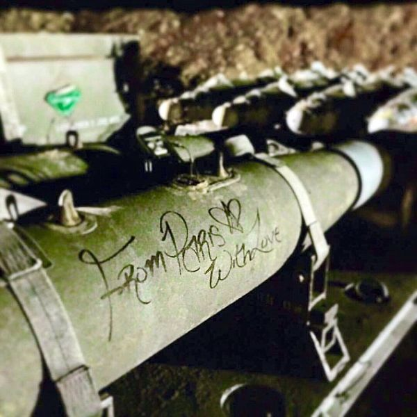 U.S. Hellfire Missiles Are Being Sent From Paris With Love (3 pics)