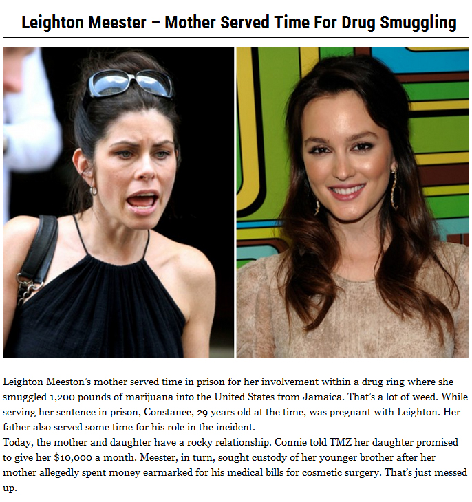 10 Dirty Secrets High Profile Celebs Don't Want You To Know (10 pics)
