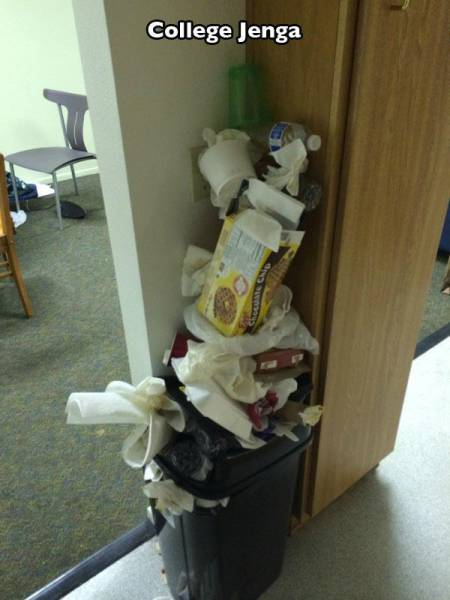 Pictures That Perfectly Sum Up The Reality Of College Life (23 pics)
