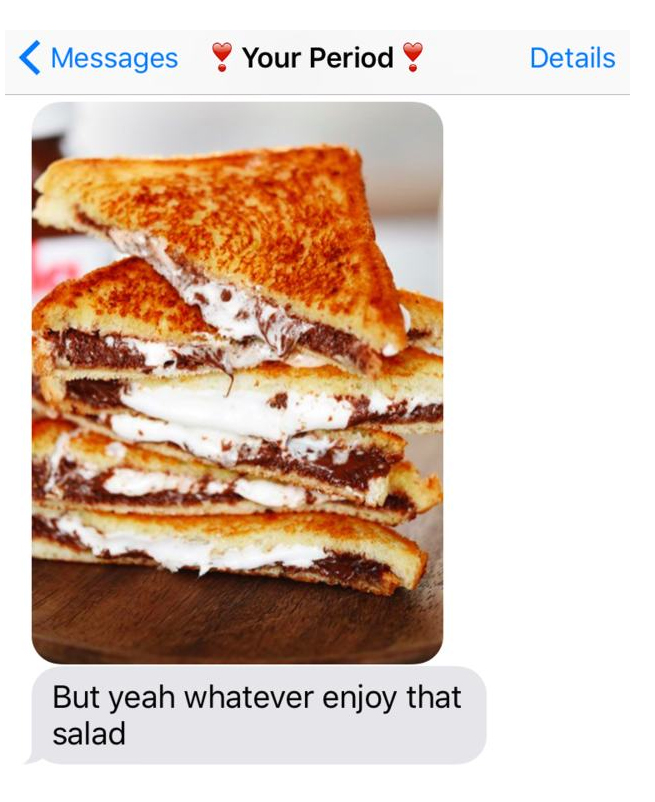 What Your Period Would Send You If It Sent Text Messages (12 pics)