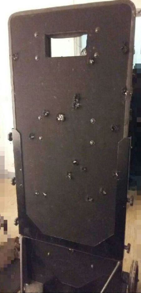 This Is The Shield Police Used To Storm A Concert During The Paris Attacks (2 pics)