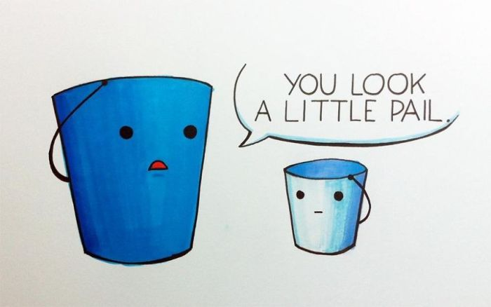 Artists Put Together Simple But Hilarious Puns (25 pics)