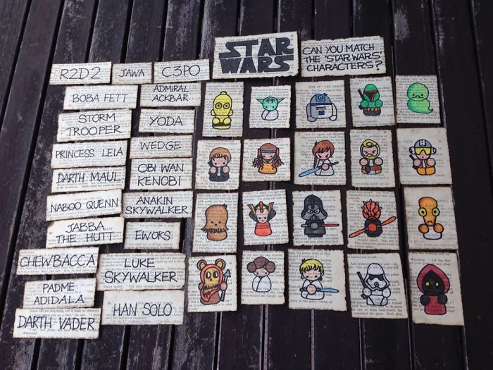 13 Year Old Girl Creates Epic Star Wars Game For Her Friend's Birthday (22 pics)