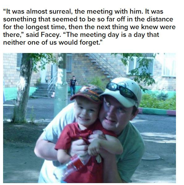 It Was So Cute When This Adopted Boy Met His New Grandpa For The First Time (8 pics)