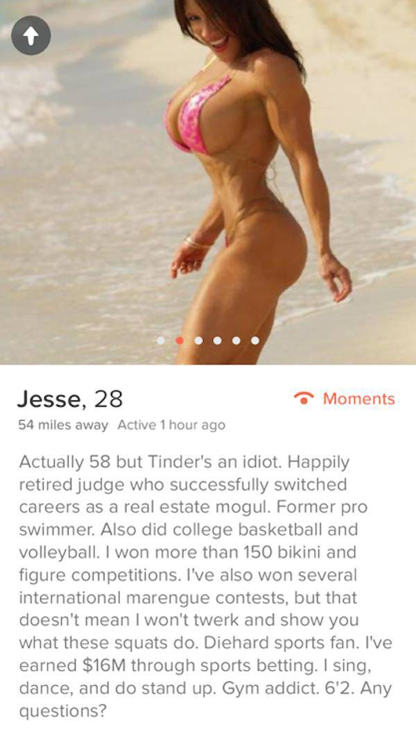 Tinder Profiles That Got Right Down To Business (29 pics)
