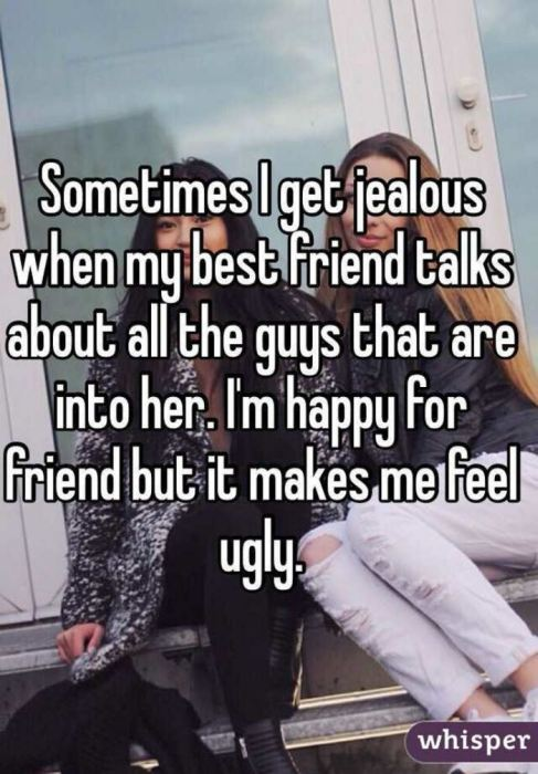People Admit Their Reasons For Being Jealous Of Their Best Friend (12 pics)