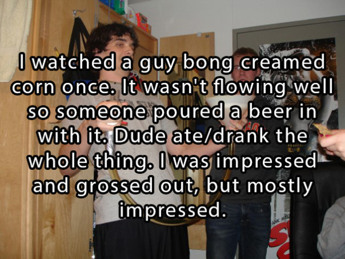 15 Of The Craziest Things That Have Ever Happened At College Parties (15 pics)