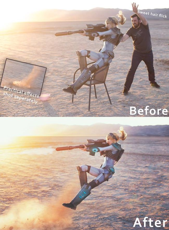 What Really Goes On Behind The Scenes At Those Epic Cosplay Shoots (2 pics)